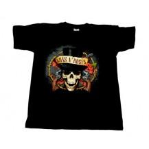 Tricou Guns N' Roses - moartea cu joben