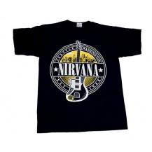 Tricou Nirvana - Guitar