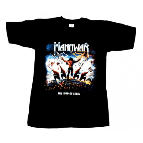 Tricou  Manowar - The Lord of Steel