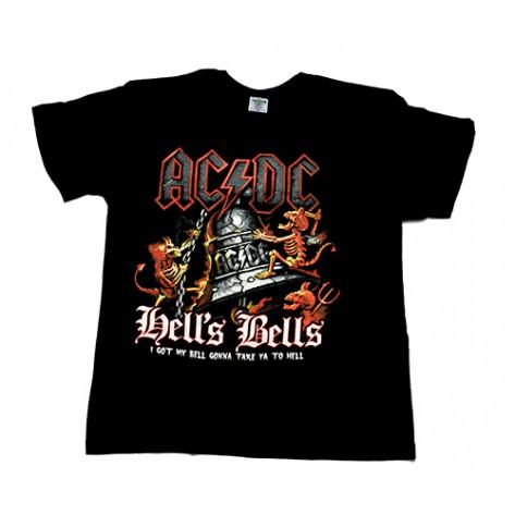 Tricou AC/DC - Hells Bells - Devils