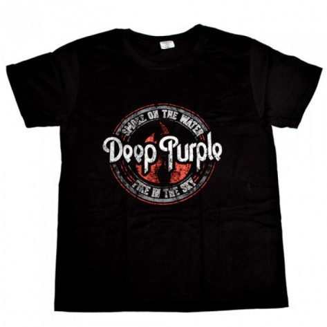 Tricou Deep Purple -  Smoke On The Water