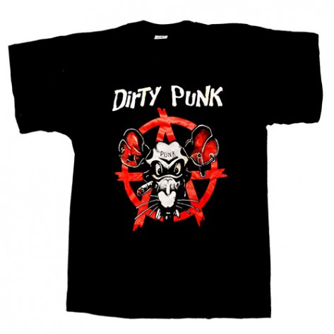 Tricou - Dirty Punk ( Anarchy )