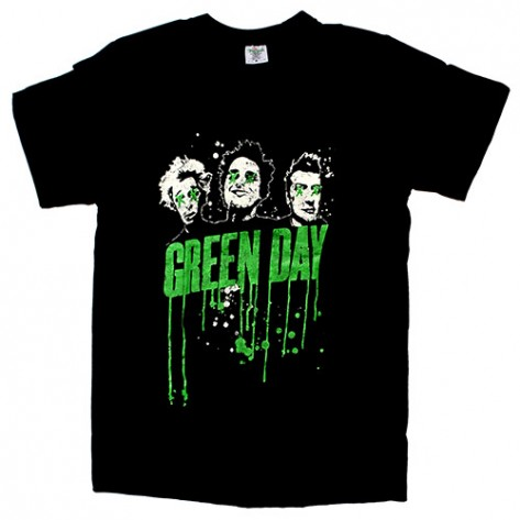 Tricou Green Day - Graffitia