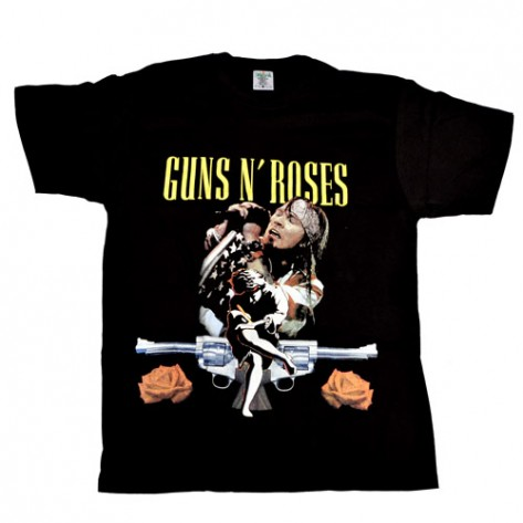 Tricou Guns N Roses - Axl Rose - Use Your Illusion