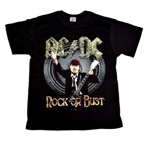 Tricou  AC/DC - Rock Or Bust ( model 2 )