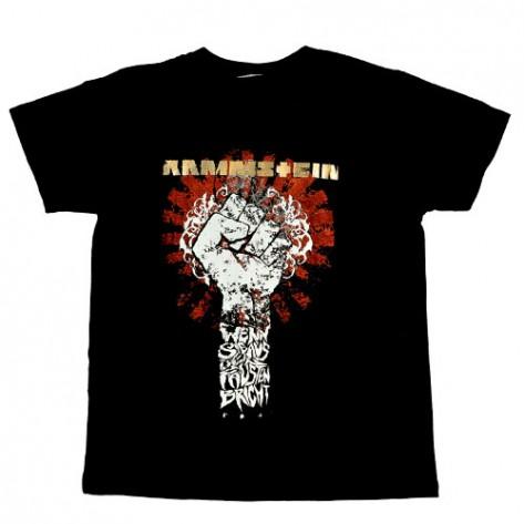 Tricou  Rammstein -  Fist (  pumn )