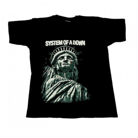 Tricou System Of A Down - Statuia Libertatii - New York