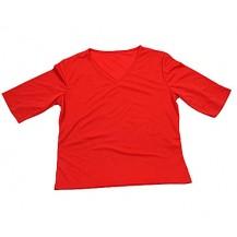 tricou  dama - maneca surta - rosie...OFERTA !!