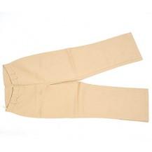 Pantaloni dama  trei sfert elastici-crem..OFERTA !!