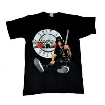 Tricou Guns N Roses - Slash - guitar