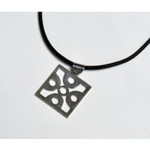Medalion dama -  cu snur siliconat
