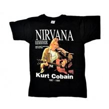 Tricou Kurt Cobain - Nirvana 1967 - 1994