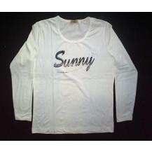 "Bluza dama "" Sunny "" alba...OFERTA !!"