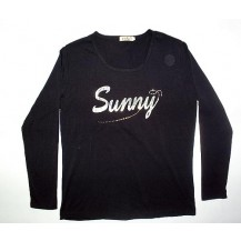 "Bluza dama "" Sunny "" neagra...OFERTA !!"