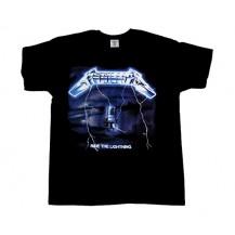 Tricou  Metallica - Ride The Lightning  ( model 2 )