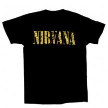 Tricou Nirvana - Smiley ( model vintage )
