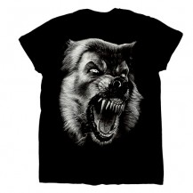 Tricou - Lup Cu Colti ( wolf with fangs )