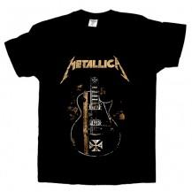 Tricou Metallica - Guitar ,James Hetfield - Iron Cross