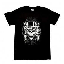 Tricou Guns N Roses - Faded Skull