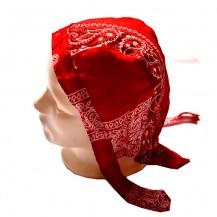 Du-rag ( bandana pt. cap ) floral rosu