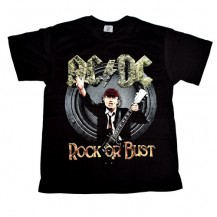 Tricou  AC/DC - Rock Or Bust ( model 2 )