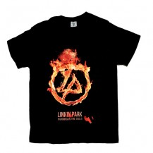 Tricou Linkin Park - Burning In The Skies