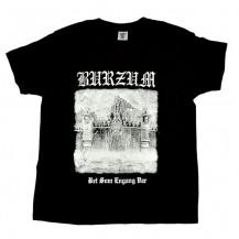Tricou Burzum - Det Sum Engang Var