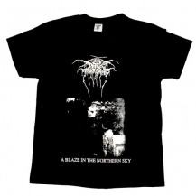 Tricou Darkthrone  - A Blaze In The Northern Sky