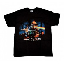 Tricou Pink Floyd  - The Dark Side Of The Moon - model 2